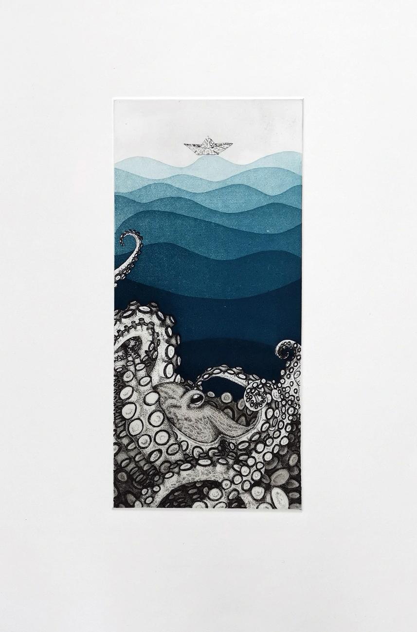 octopus - 57 x 38