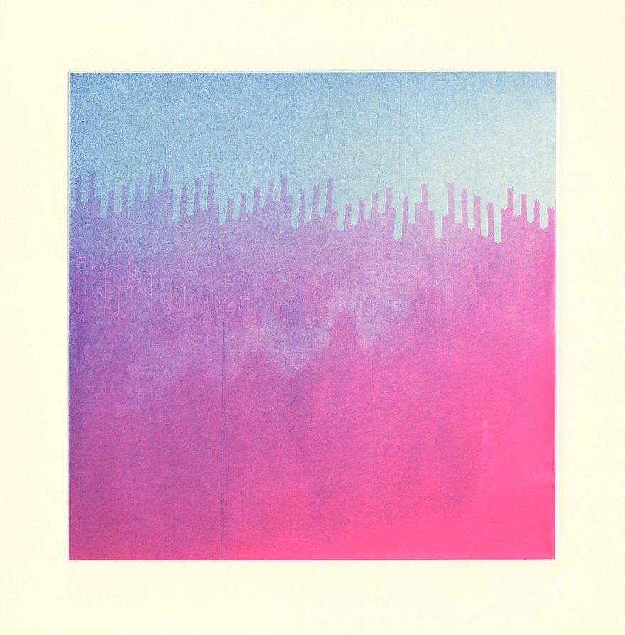print etching colour art